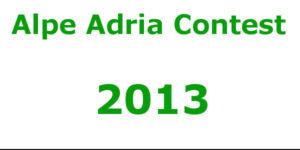 Alpe Adria Contest 2013